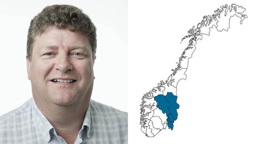 contact person, sales representative, profile and map, Steinar Nygård, nygard, nygaard, NO