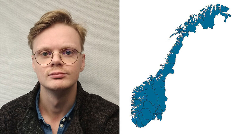 contact person, customer services, profile and map, Knut F. Larsen, NO