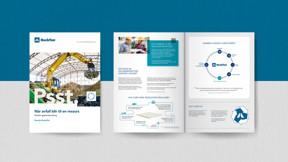 NO, Rockfon Recycling, Rockcycle, Brochure, Sustainability, Mock-up