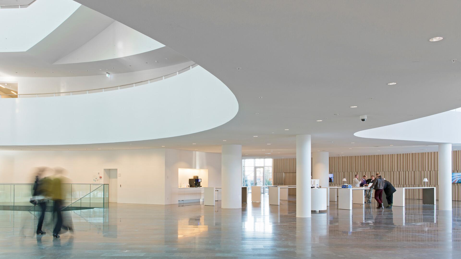 Produkter på bildet: Rockfon Mono® Acoustic, TE Elegant Render, 1200 x 1200